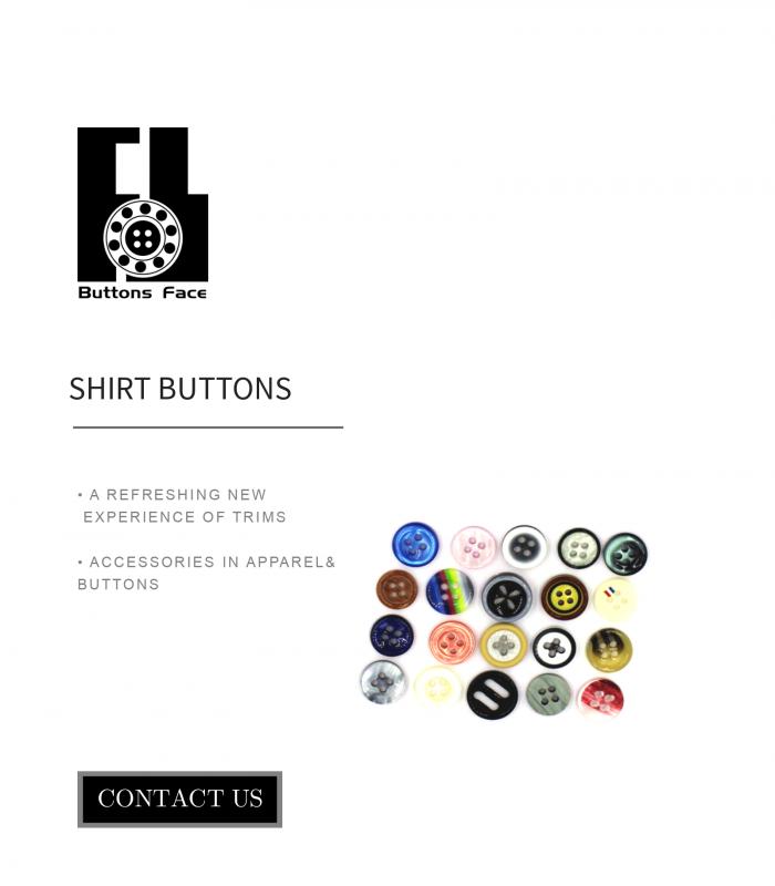 shirt button design