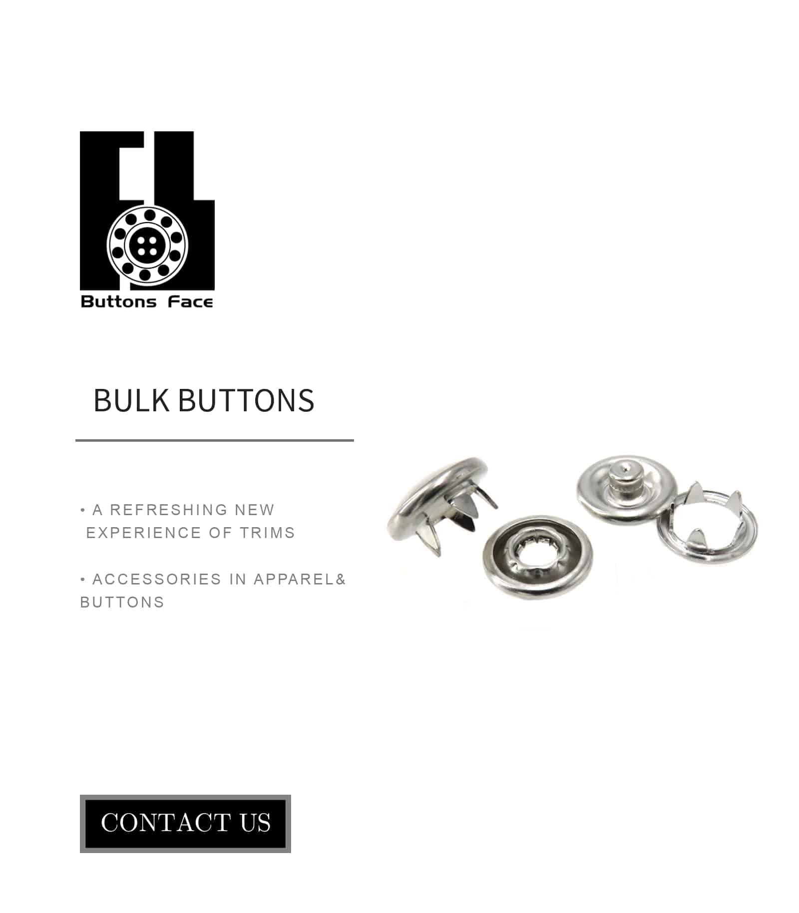 PEARL SNAP BUTTONS SLIVER